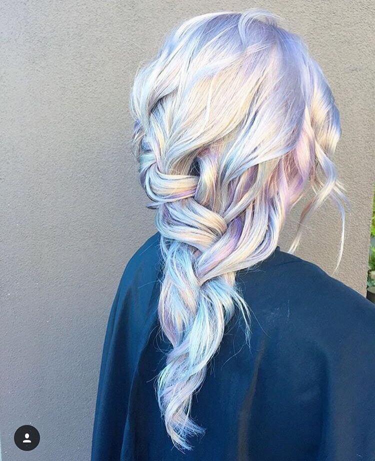 Unicorn-hair-colour