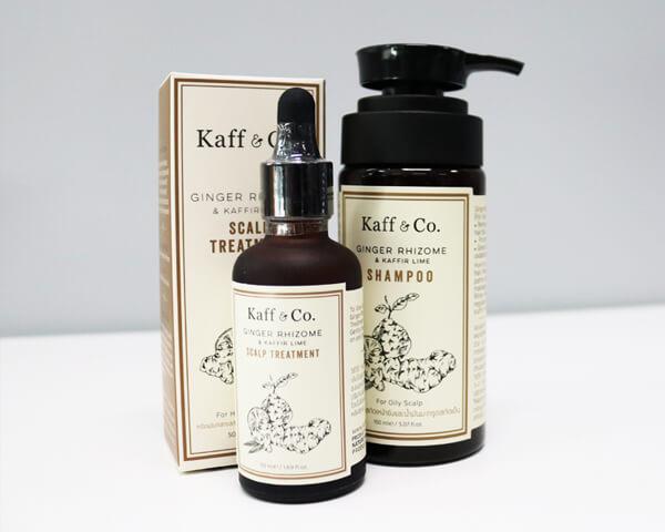 Review ยาสระผมและทรีทเม้นท์กู้ห้วล้านผมร่วง! (Kaff & Co.)