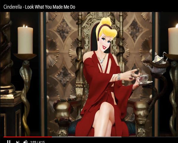 ภาพสุดฮาเมื่อเหล่าเจ้าหญิงจาก Disney ต้องมาอยู่ใน MV เพลง