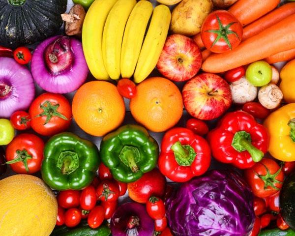 คุณประโยชน์ตามสีสันของผักผลไม้