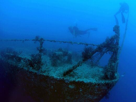 7 เรืออับปางเก่าแก่ใต้ท้องสมุทร
