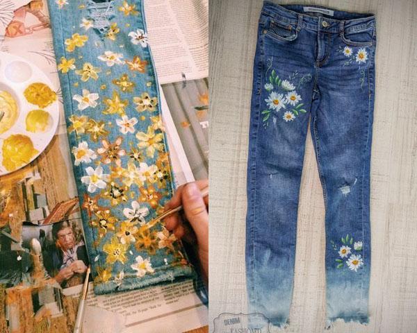 เตรียมสีให้พร้อม แล้วมาสร้างงานศิลปะให้กางเกงยีนส์ตัวโปรดกัน!