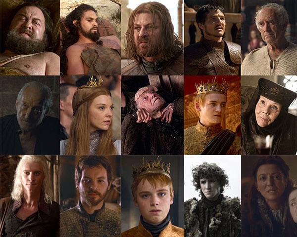 ใครตายไปแล้วบ้างใน Game of Thrones ?