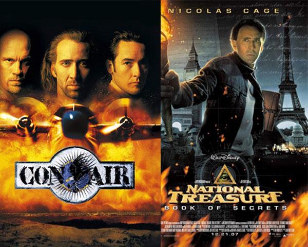 5 หนังสนุกดูเพลินของนิโคลัส เคจ