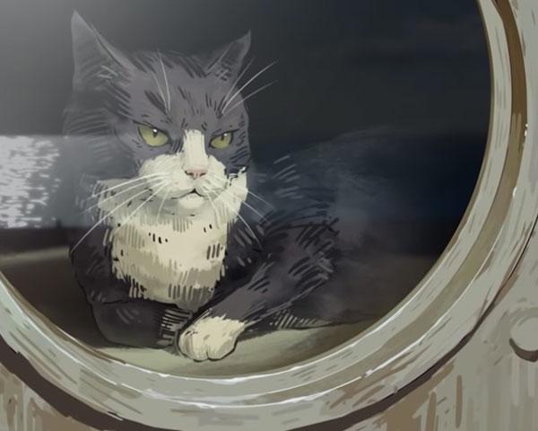 แซมผู้ไม่จม!! ตำนานแมวผู้รอดจากเรือจมถึง 3 ลำ