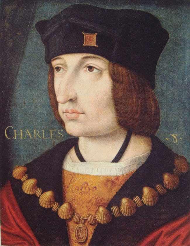 การตายสุดเพี้ยนของเหล่ากษัตริย์ พระเจ้าชาร์ลที่ 8 แห่งฝรั่งเศส