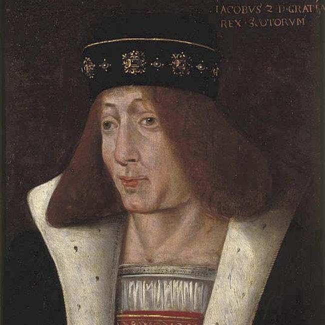 การตายสุดเพี้ยนของเหล่ากษัตริย์ พระเจ้าเจมส์ที่ 2 แห่งสกอตแลนด์