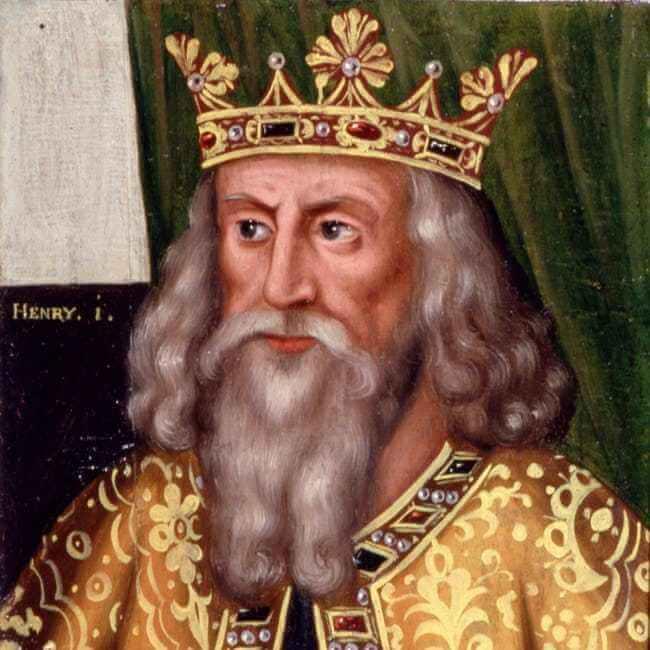 การตายสุดเพี้ยนของเหล่ากษัตริย์ พระเจ้าเฮนรีที่1