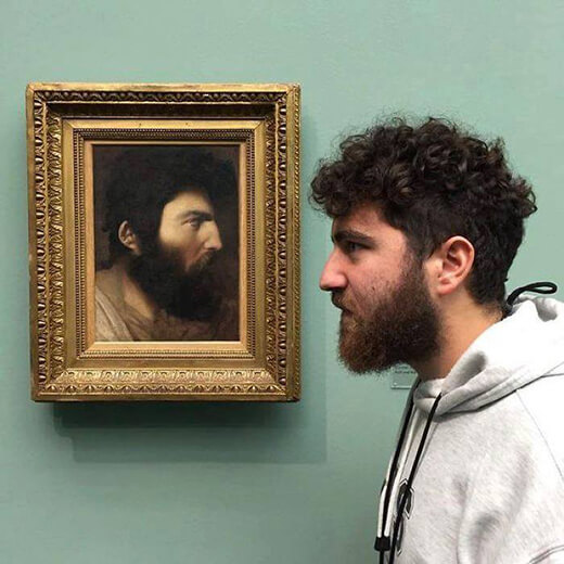 เมื่อศิลปะปะทะคนจริง กลายเป็นงานรวมพลคนหน้าเหมือน
