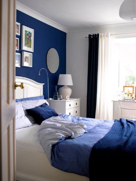 ไอเดียแต่งบ้าน-ห้องนอน-navyblue