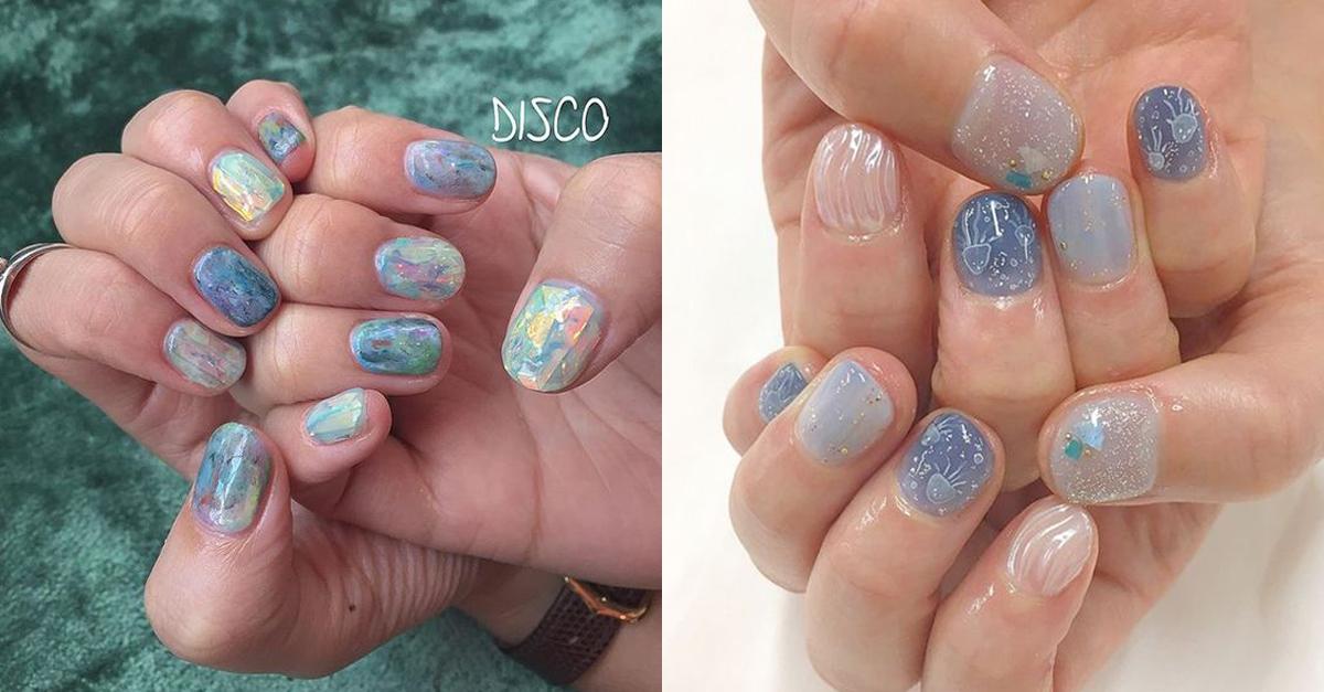 Nails-Polish-Blue