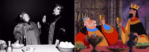 กษัตริย์ Hubert และ กษัตริย์ Stefan
