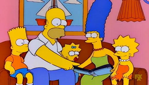 Simpsons ดูอัลบั้มครอบครัว