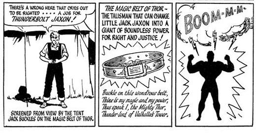 ฉาก Jack แปลงร่างเป็น Thunderbolt Jaxon