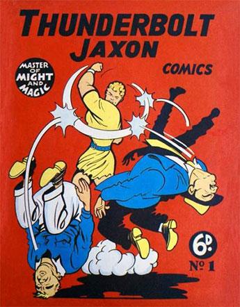 หน้าปก Thunderbolt Jaxon เล่มแรก