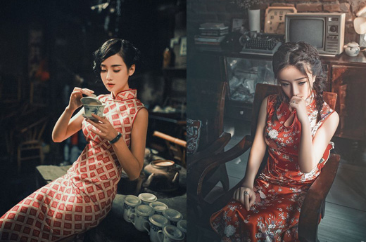 chinese-red-qipao